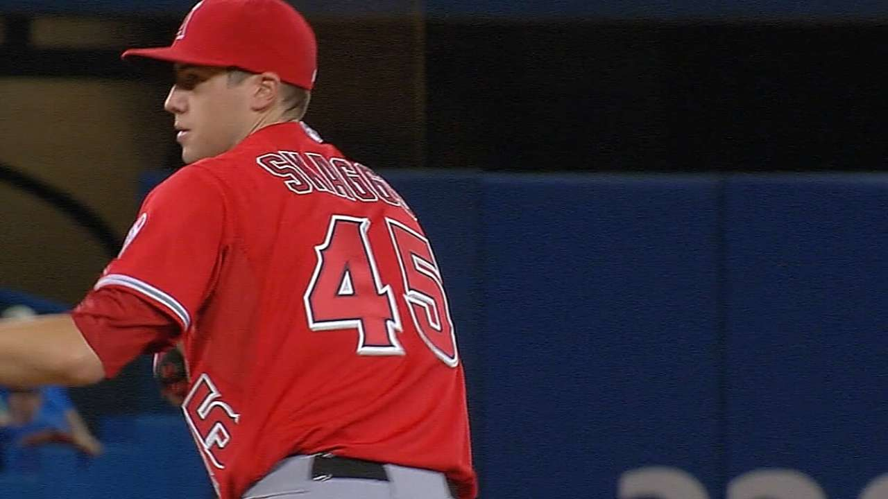 Skaggs is back, looking for spot