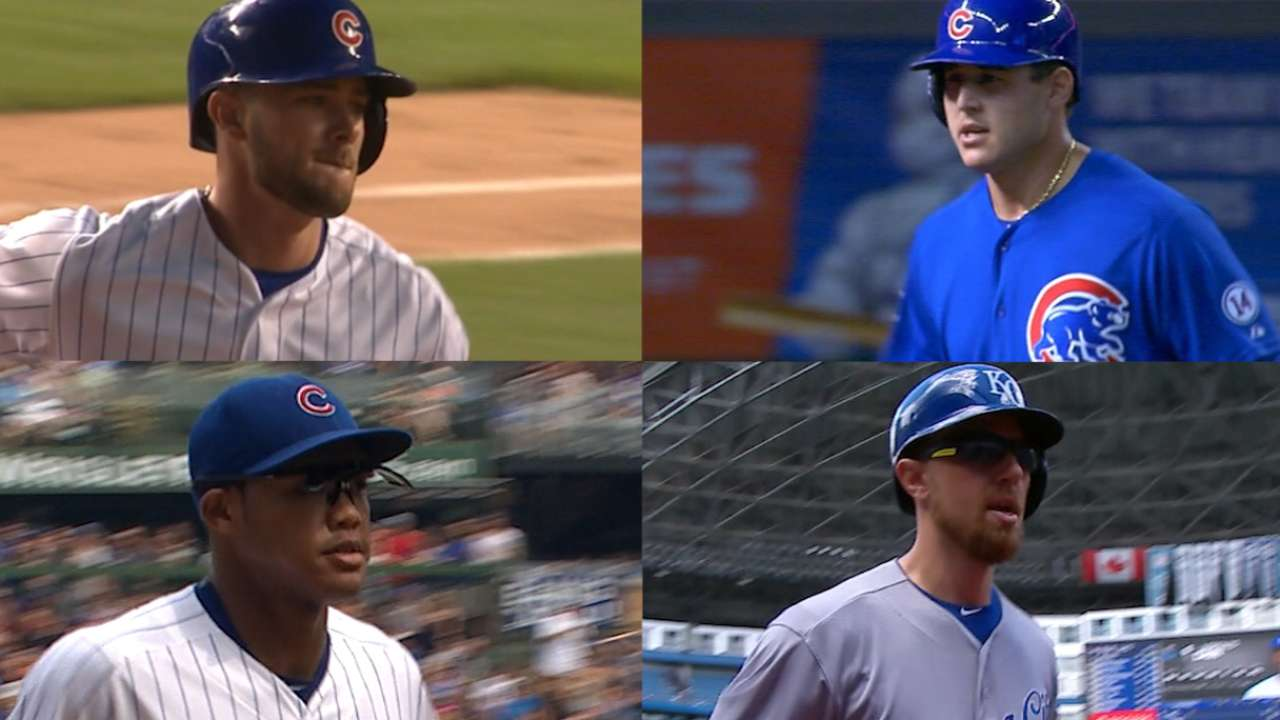 Cubs boast dominant infield