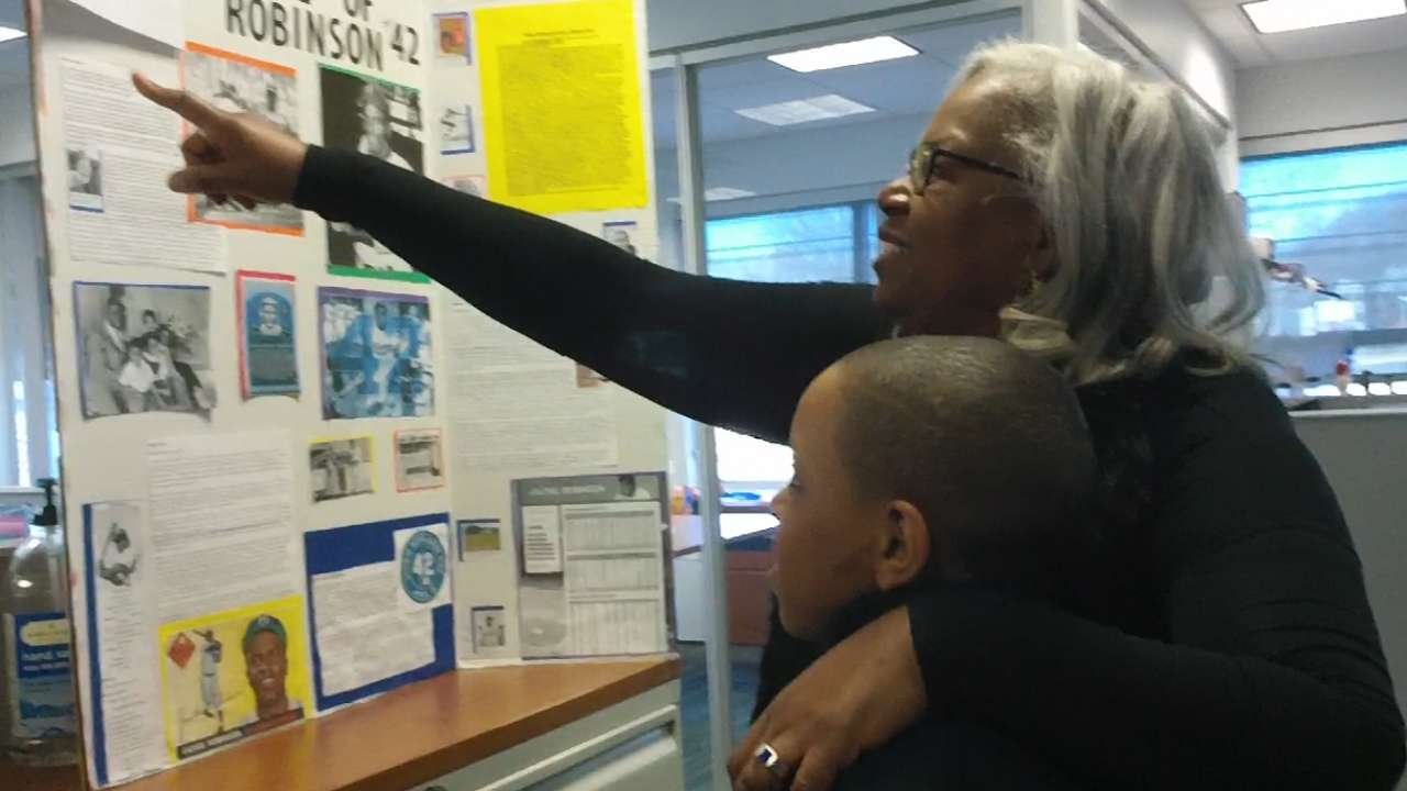 Sharon Robinson shares in father's legacy