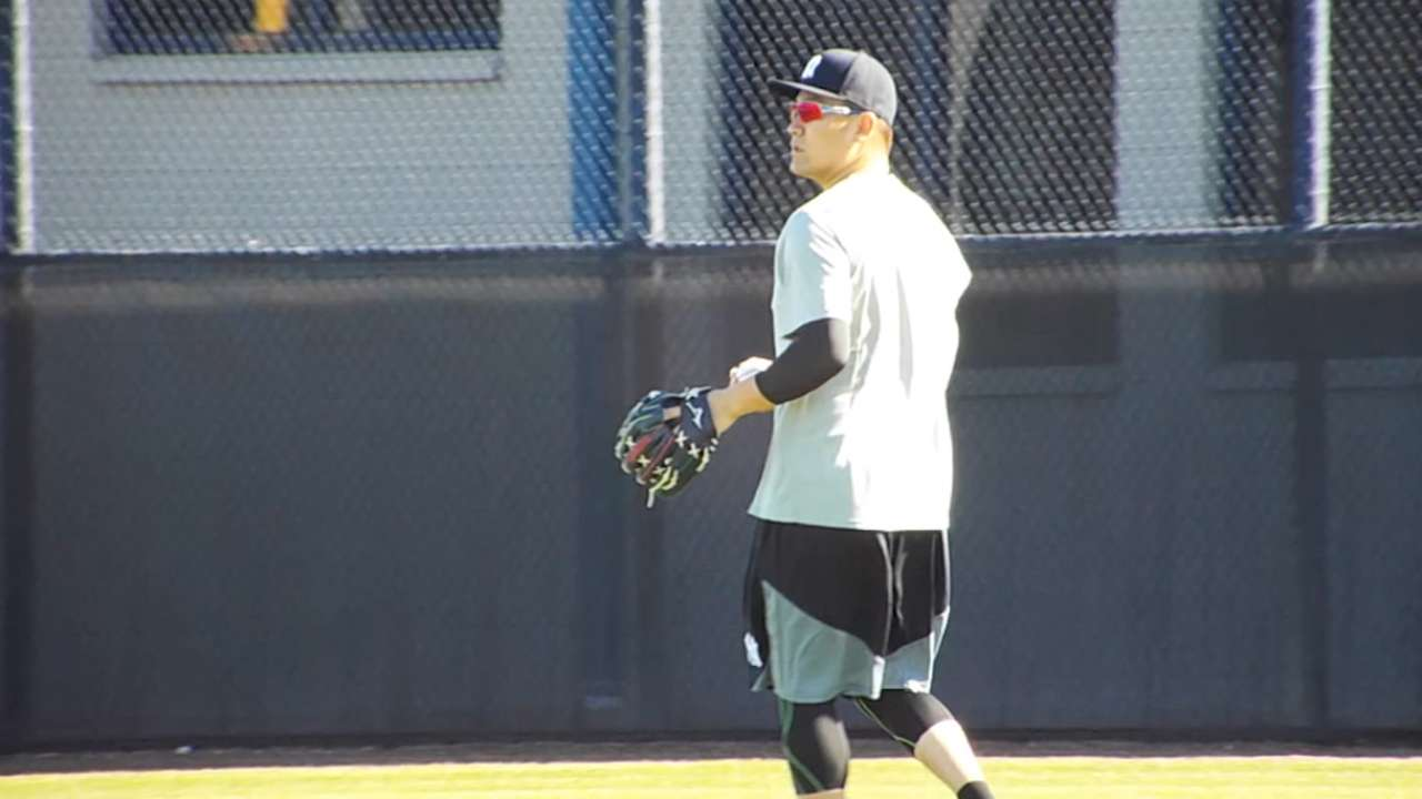 Tanaka: Opening Day status to be determined