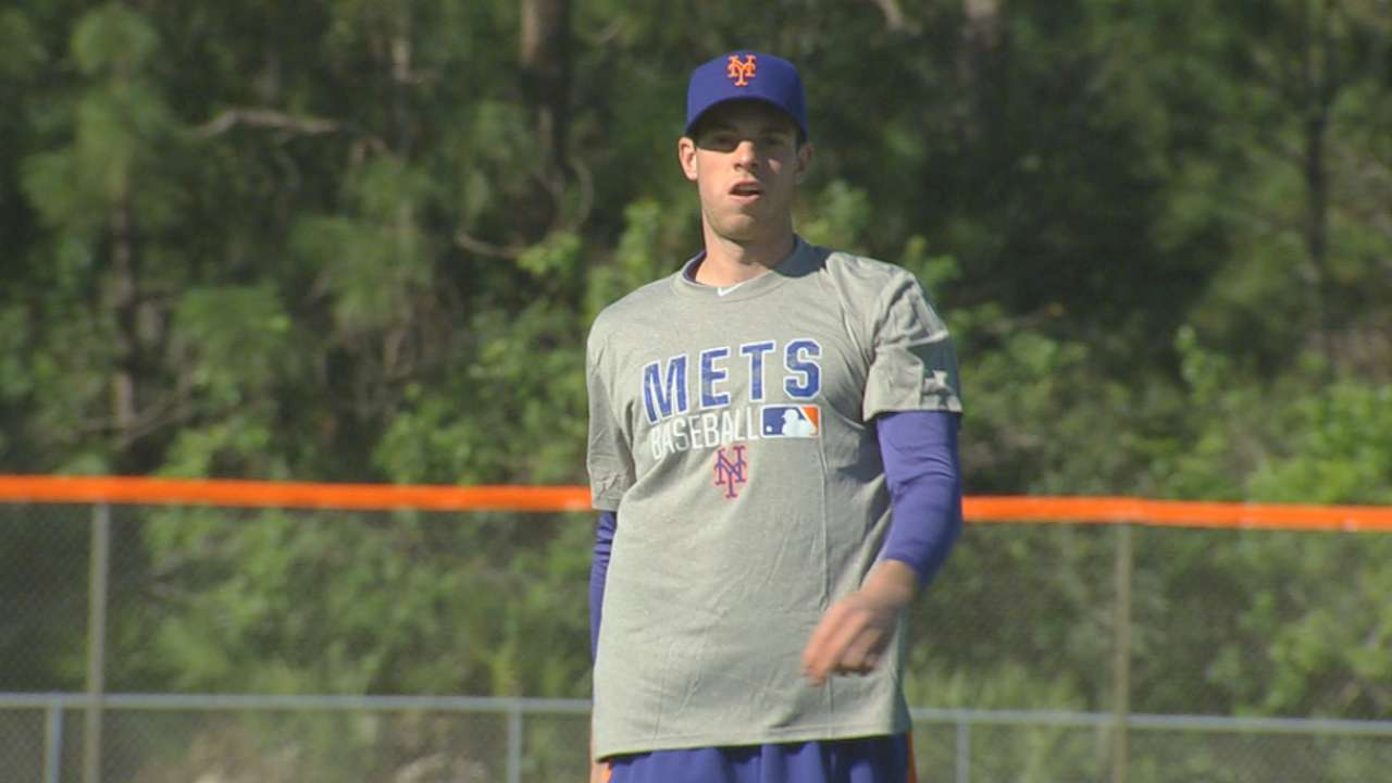 Matz leads Mets' latest wave of prospects into spring