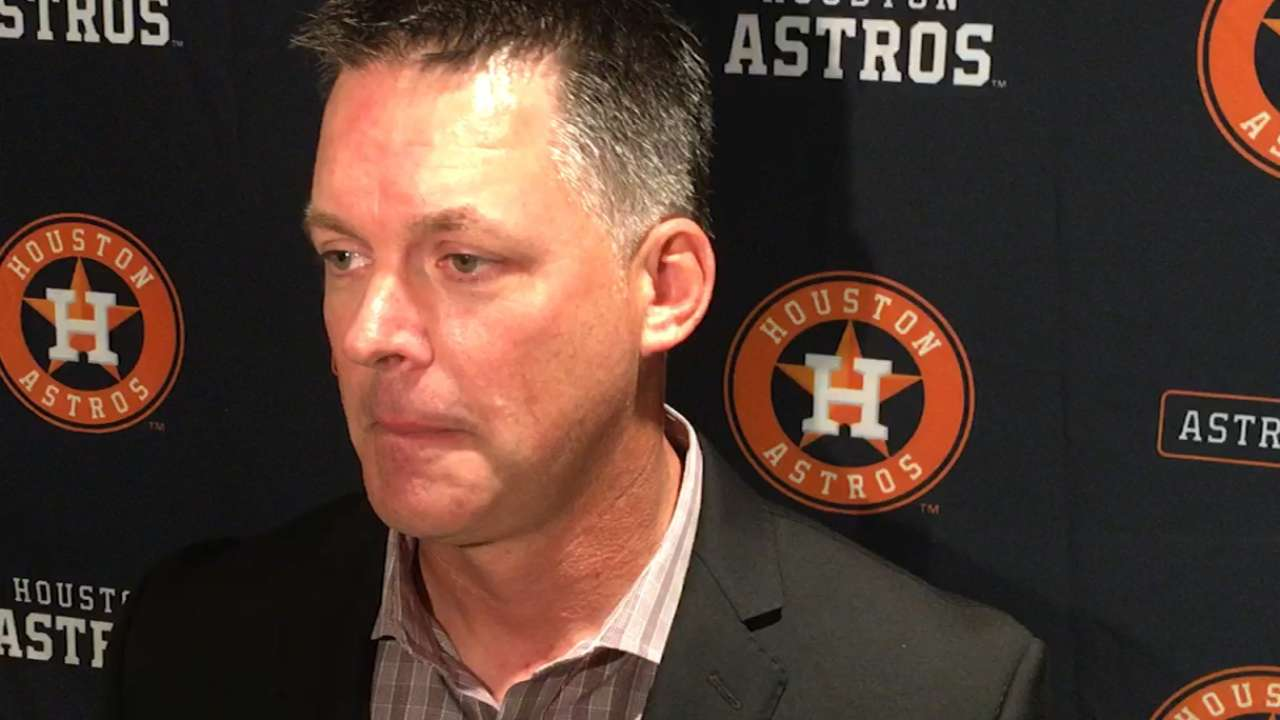 Hinch, Luhnow on 2016