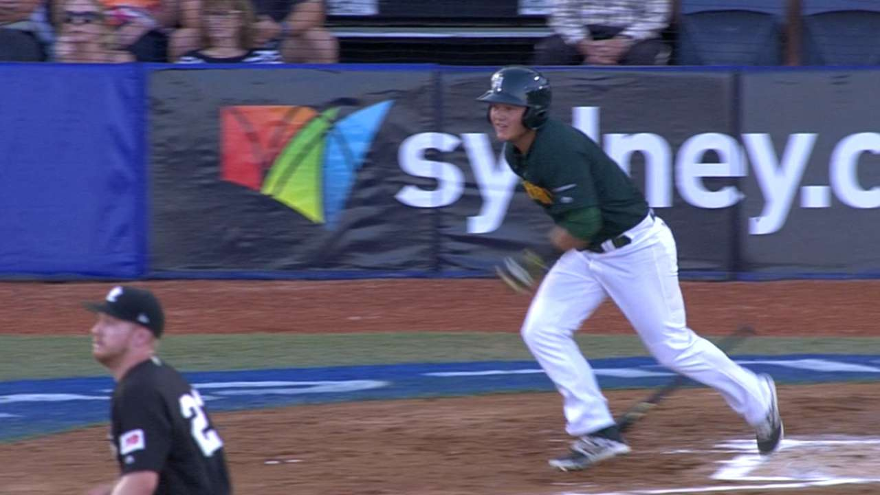 Ebersohn's RBI double