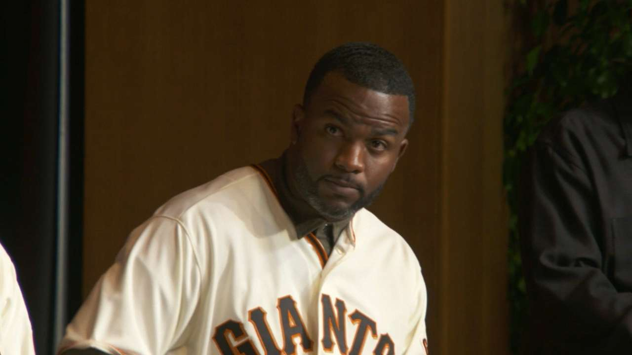 Span ready for 2016 with Giants