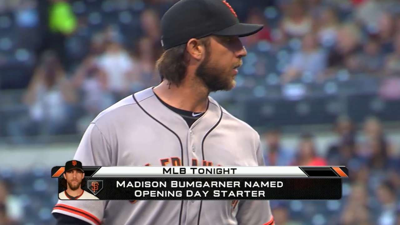 MadBum set to start Opening Day