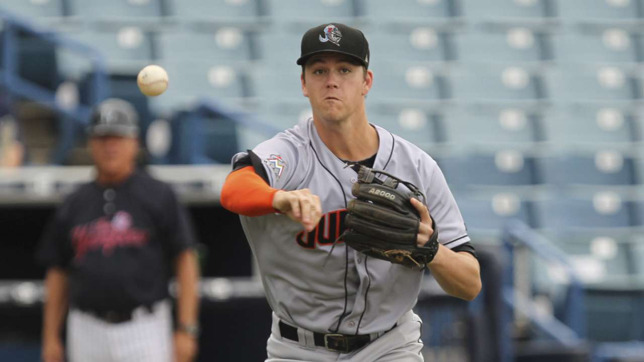 Anderson homers in three-hit day in AFL rout