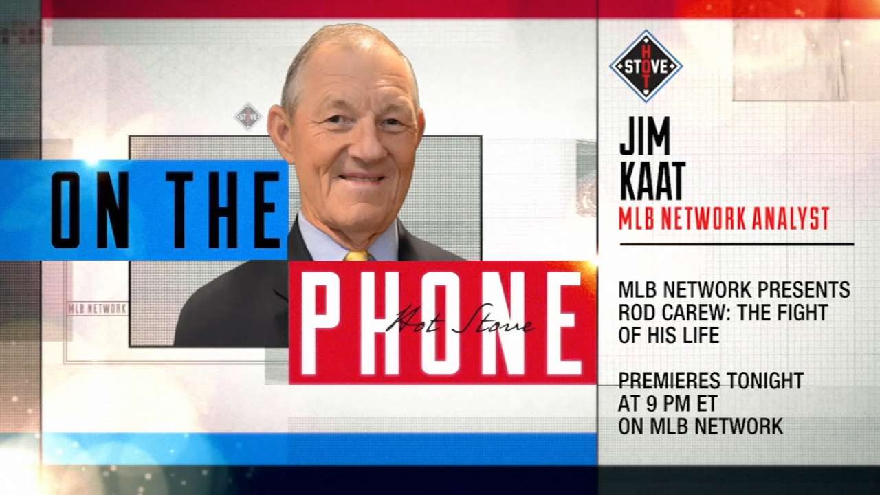 Jim Kaat discusses Rod Carew