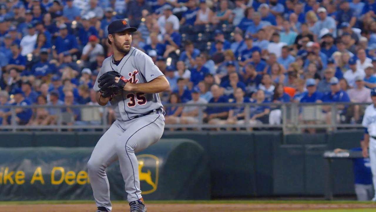 Verlander to make 8th Opening Day start