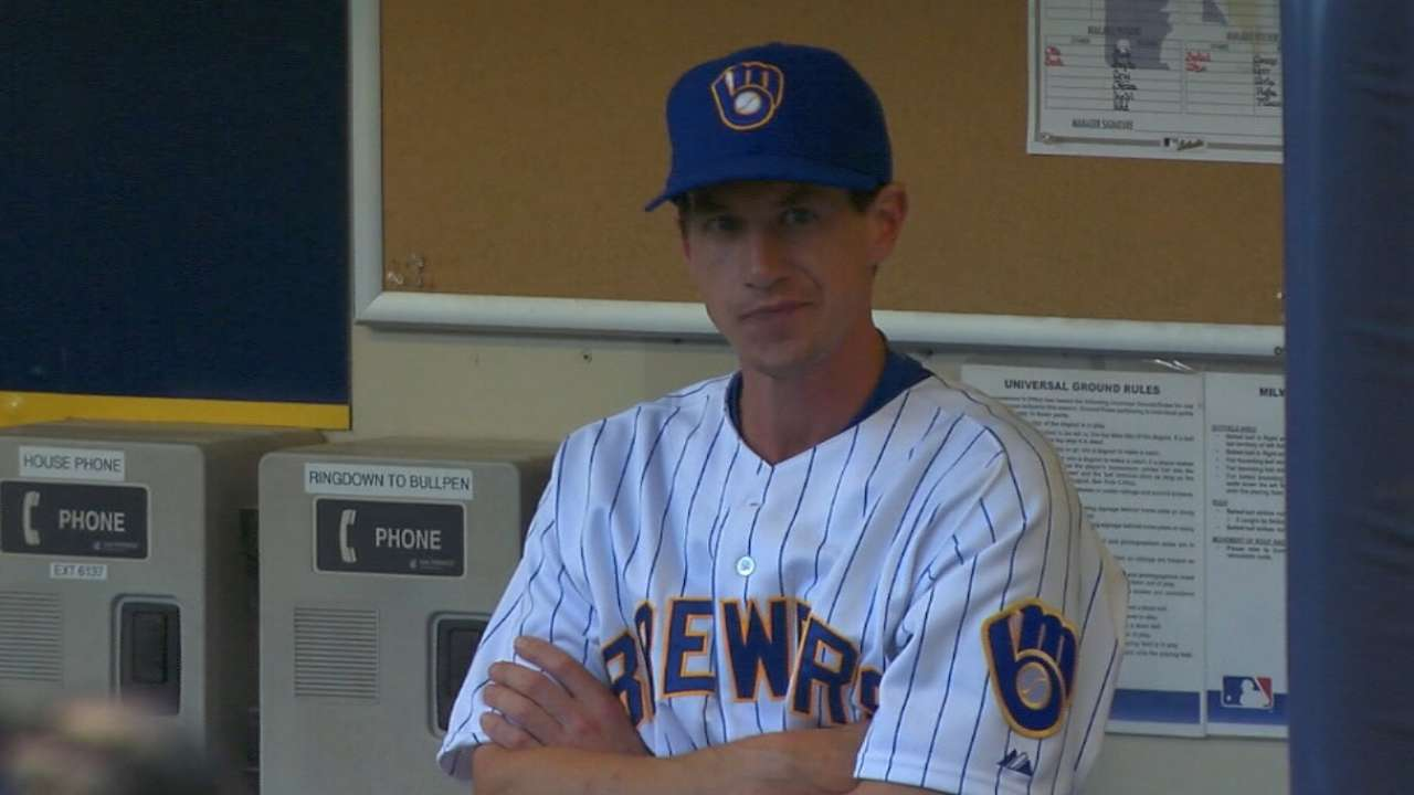 Who will be Opening Day starter for Brewers?