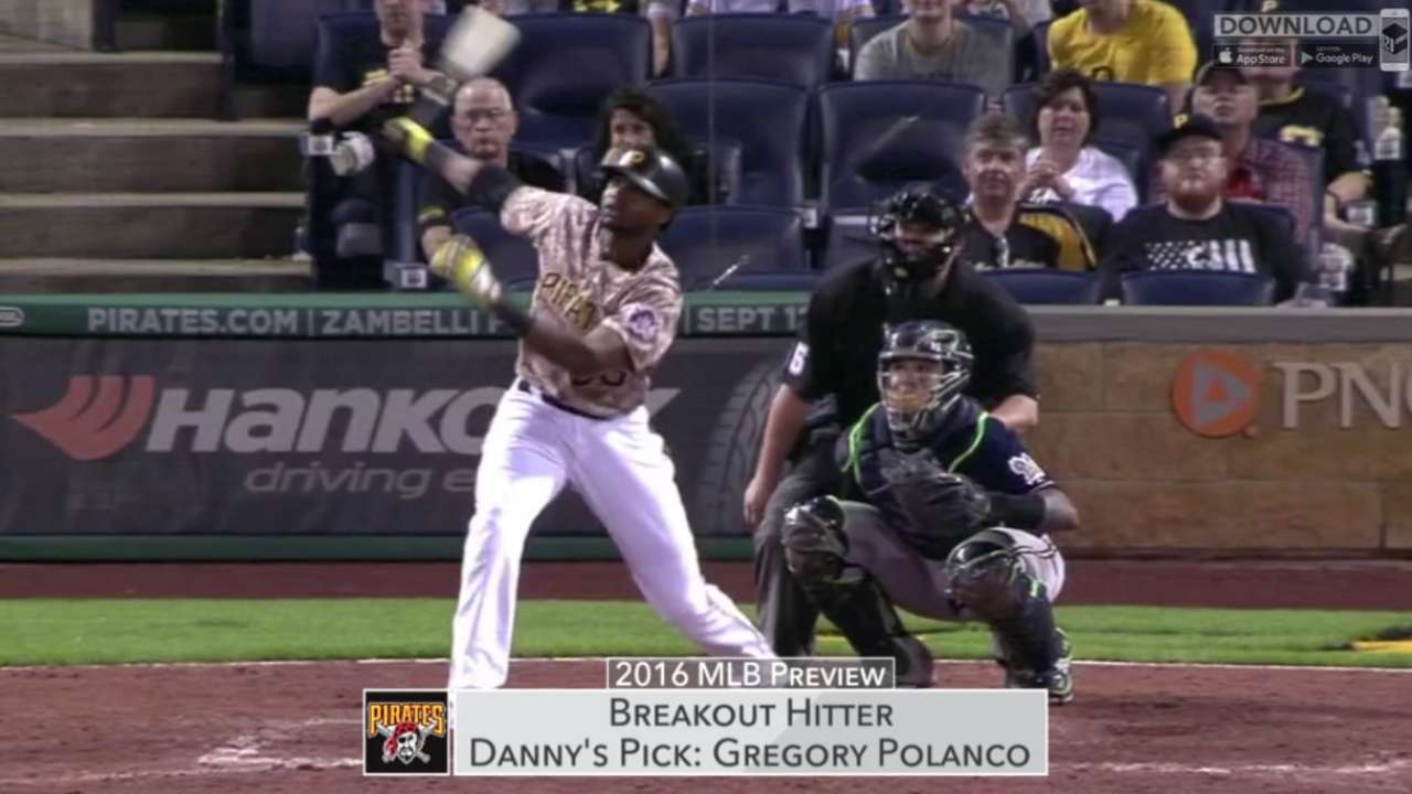 Pirates breakout players in '16