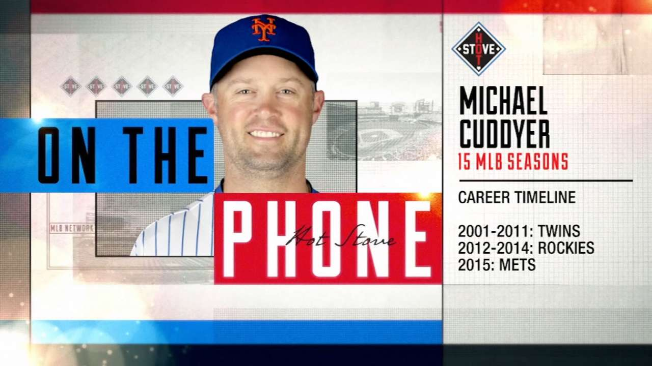 Cuddyer on life after baseball