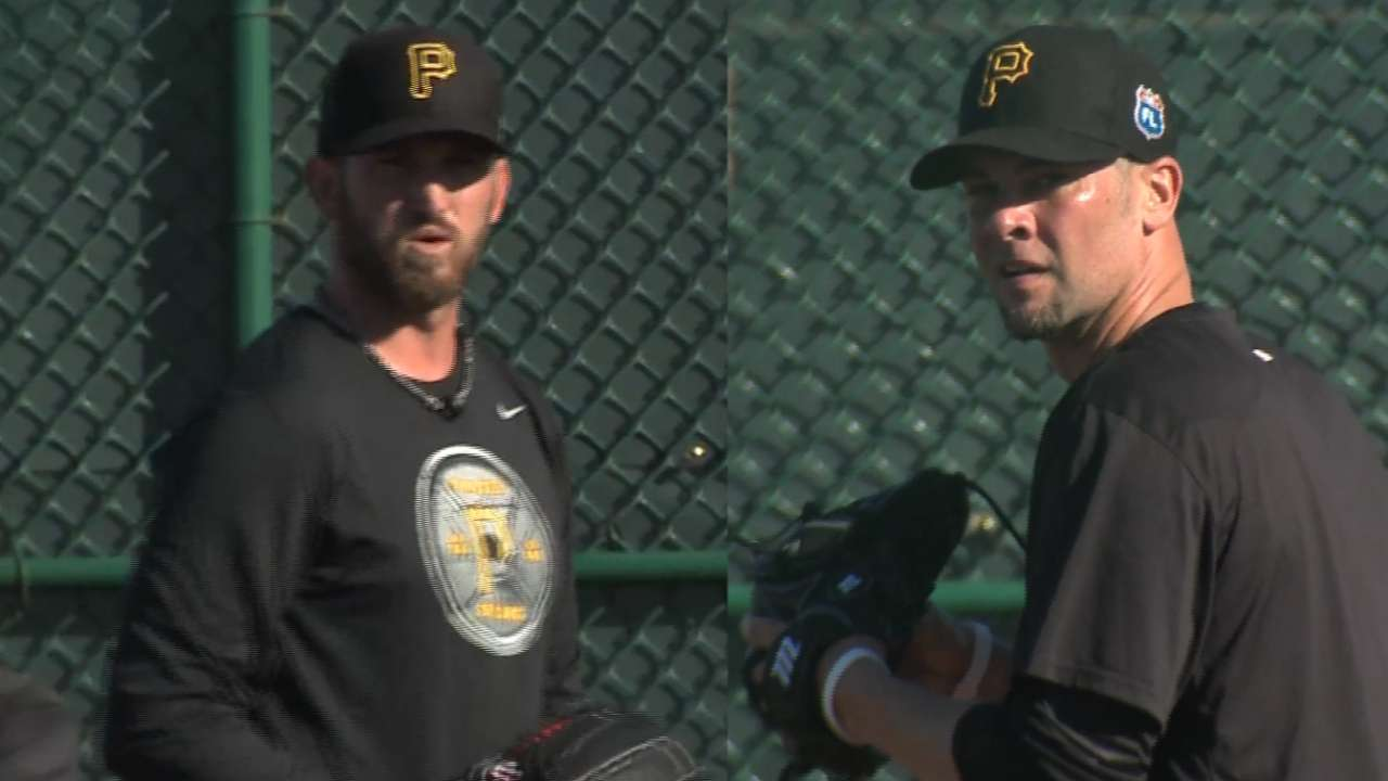 New pitchers arrive at Bucs camp