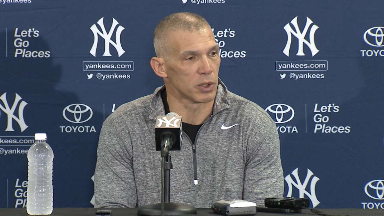 Girardi ready to start camp