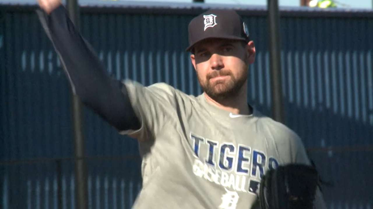 For Tigers, report date reason to celebrate