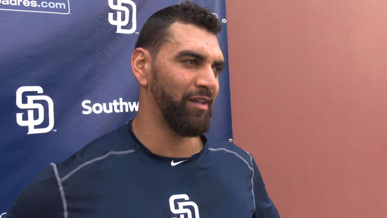 Padres hand Opening Day nod to Ross