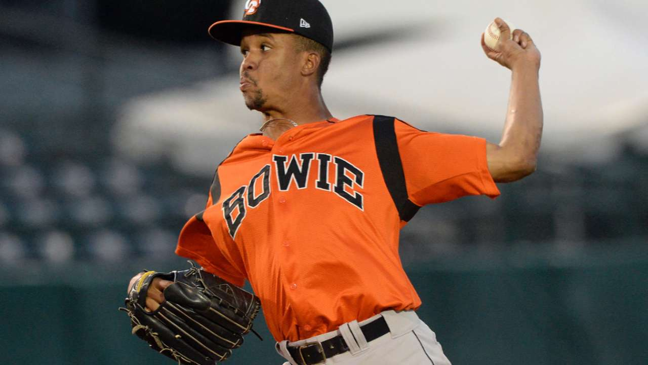 Pair of O's prospects optioned to Double-A