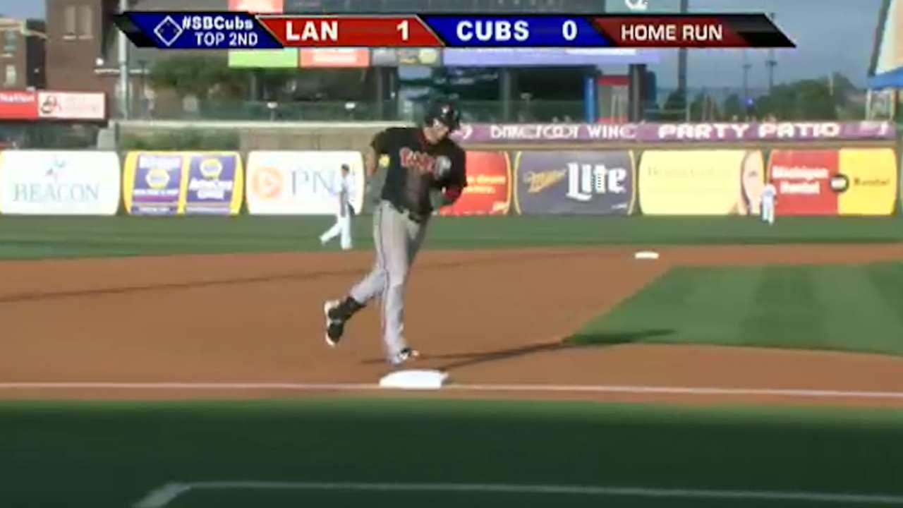 McBroom hits two home runs, drives in seven for Mesa