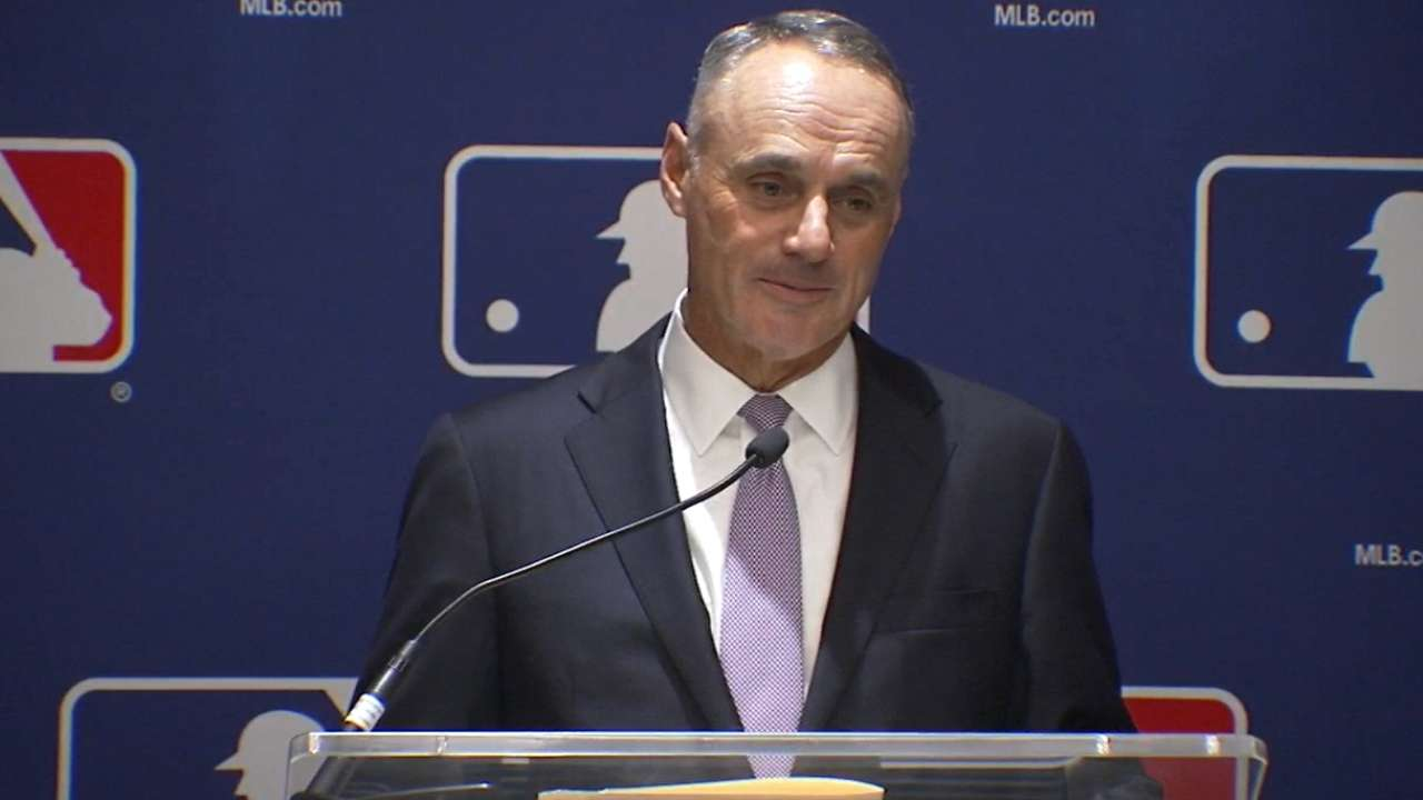 Manfred on international efforts