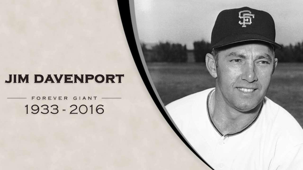 Giants mourn passing of Davenport