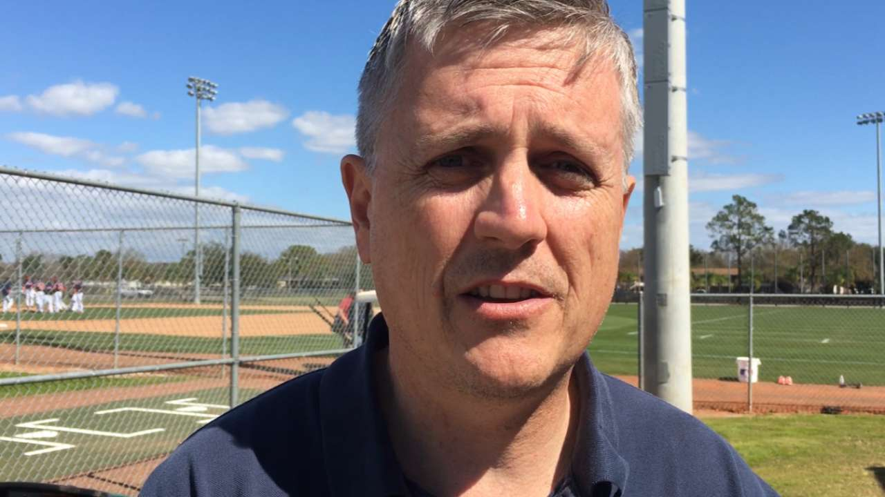 Luhnow on first base battle