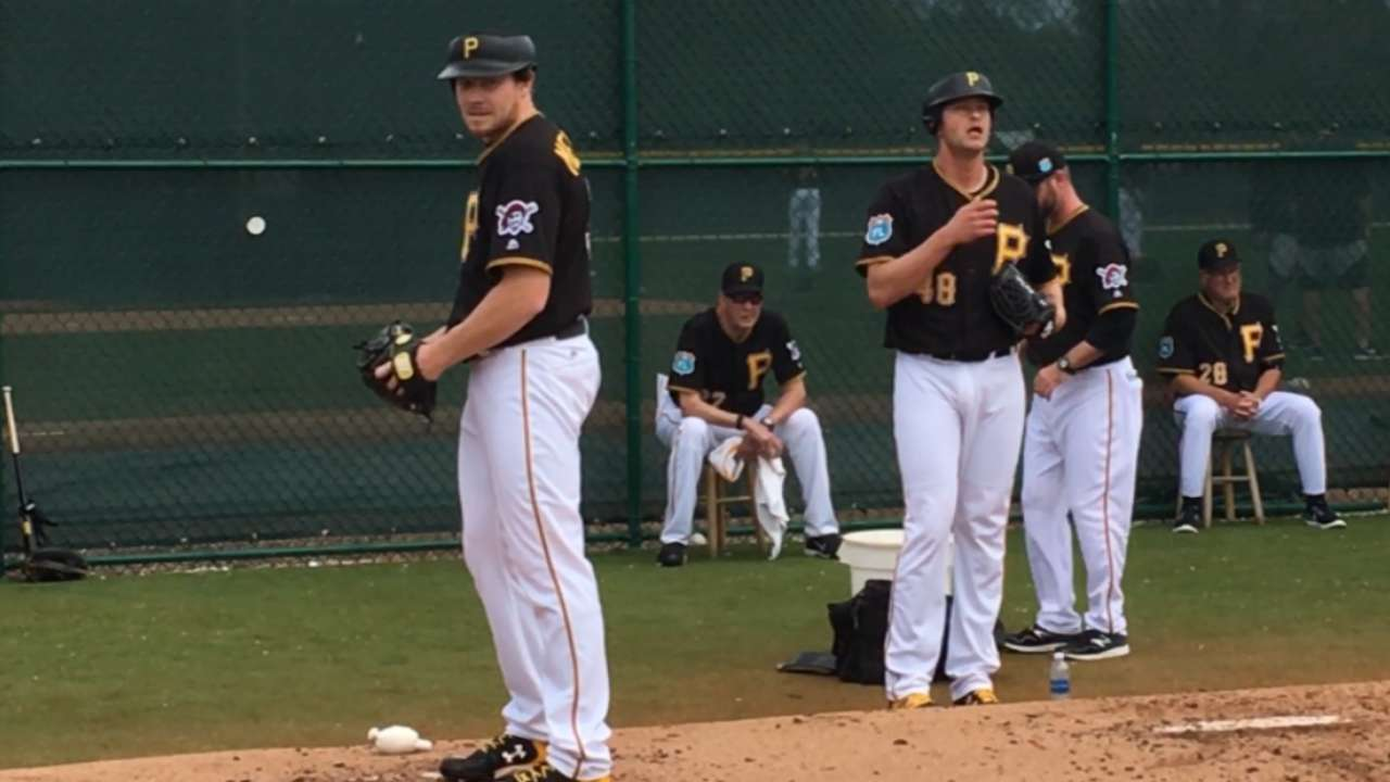 Safe situation: Pitchers try protective cap