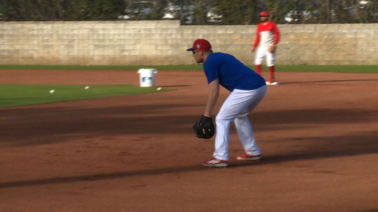 Asche learning in his new role