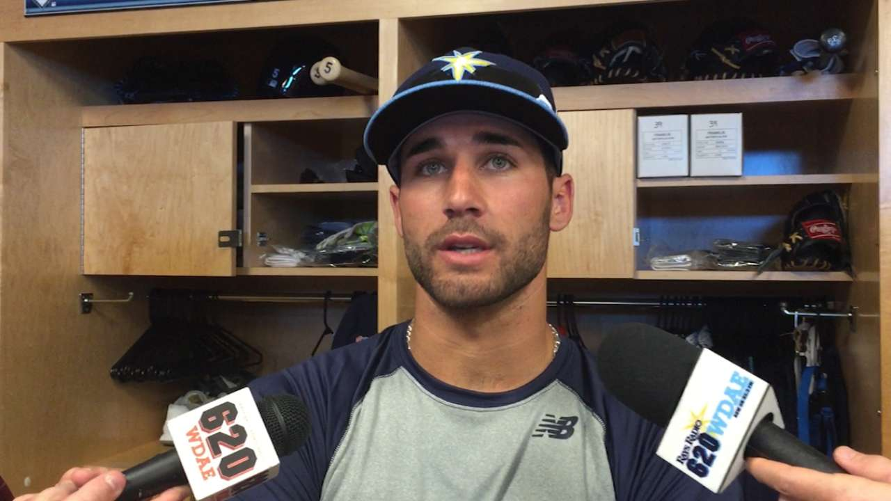 Kiermaier is poised for offensive success
