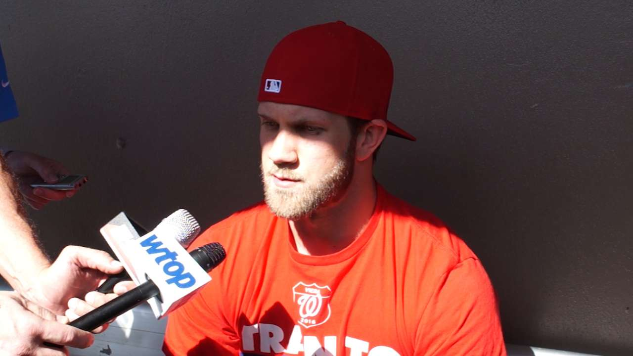 Harper on Papelbon reaching out