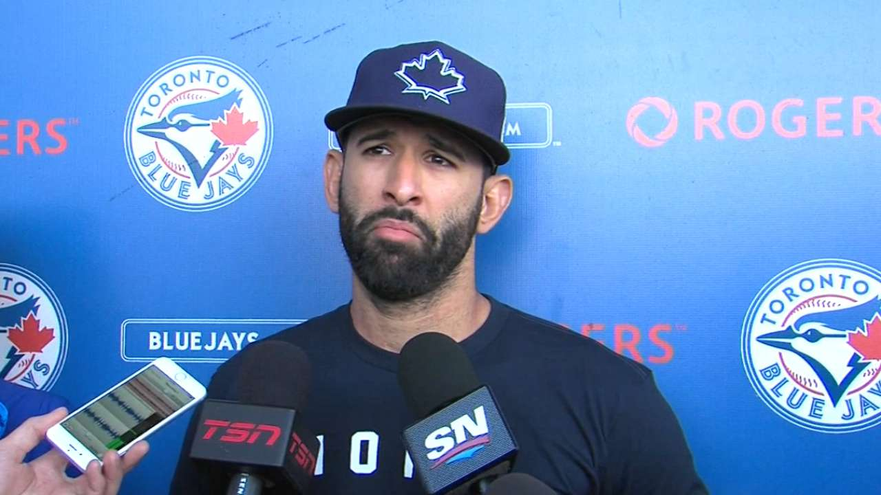 Bautista's comments on his contract