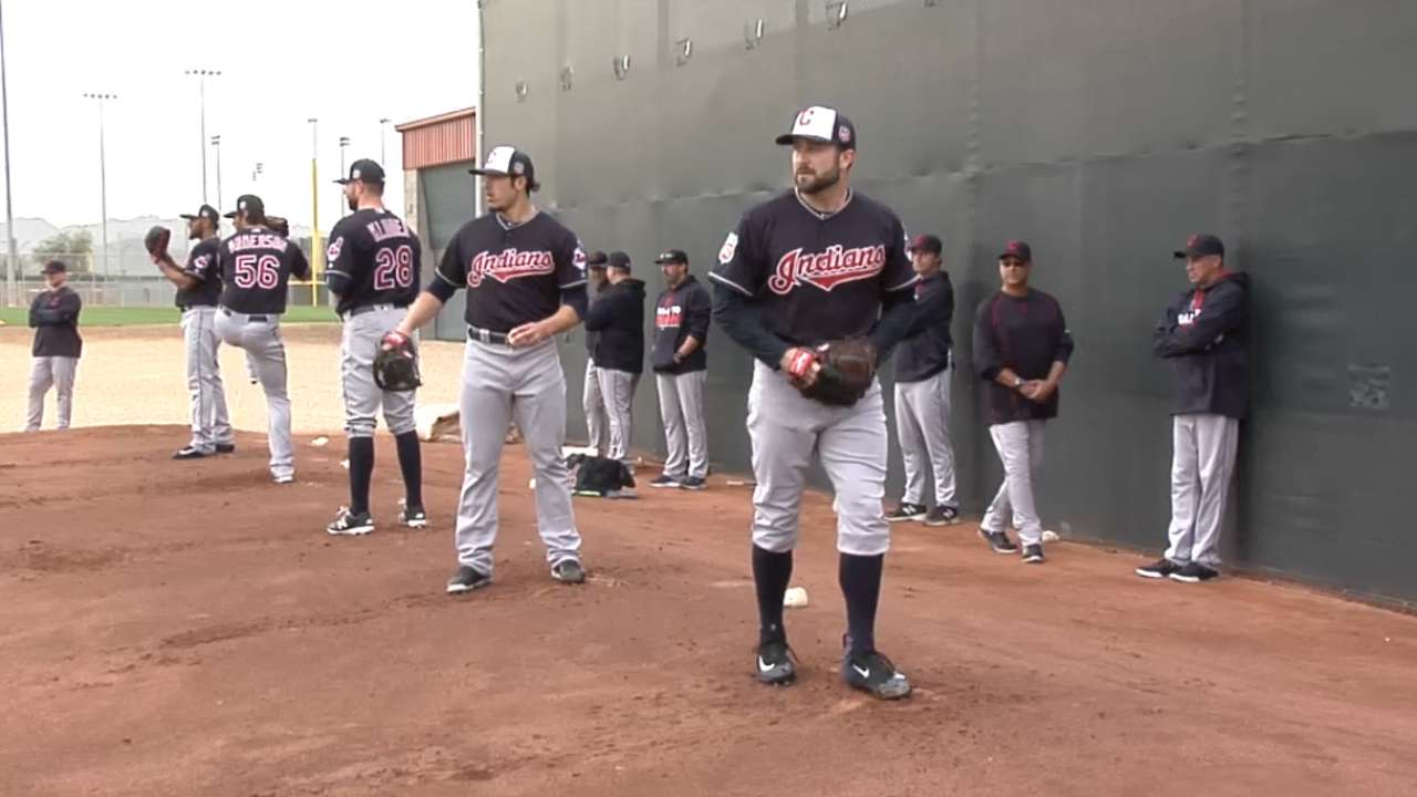Francona on spring auditions
