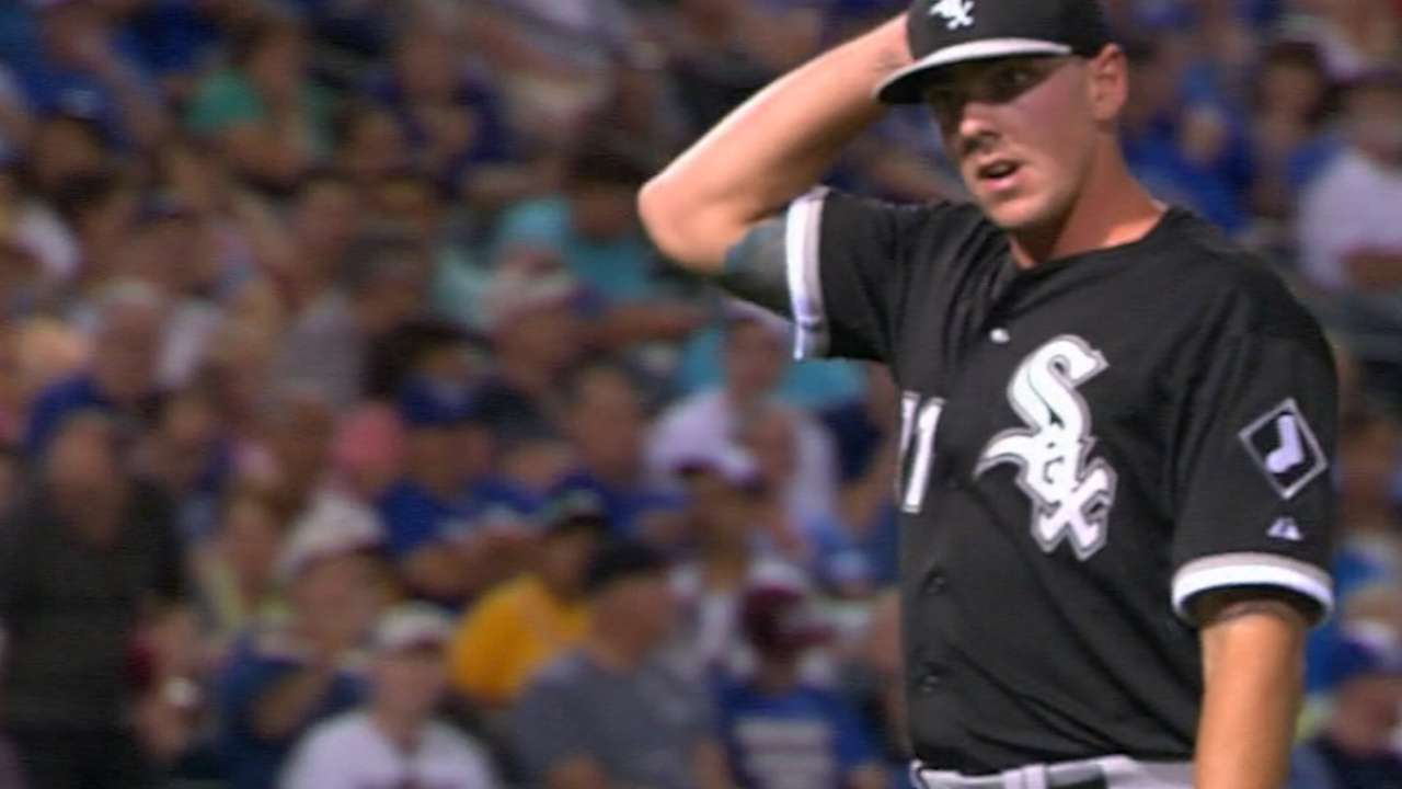 White Sox send 8 to Minors, including Beck