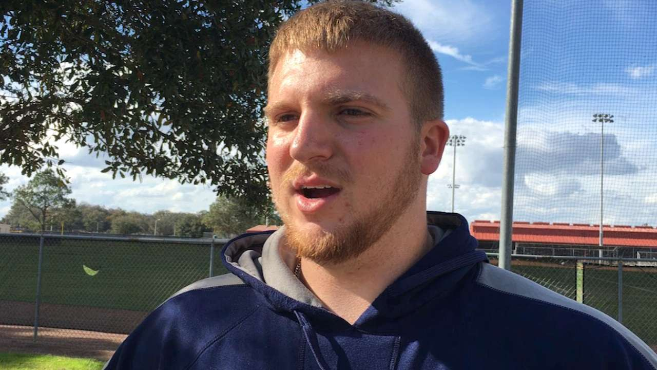 In-shape Reed excited to compete for job at first