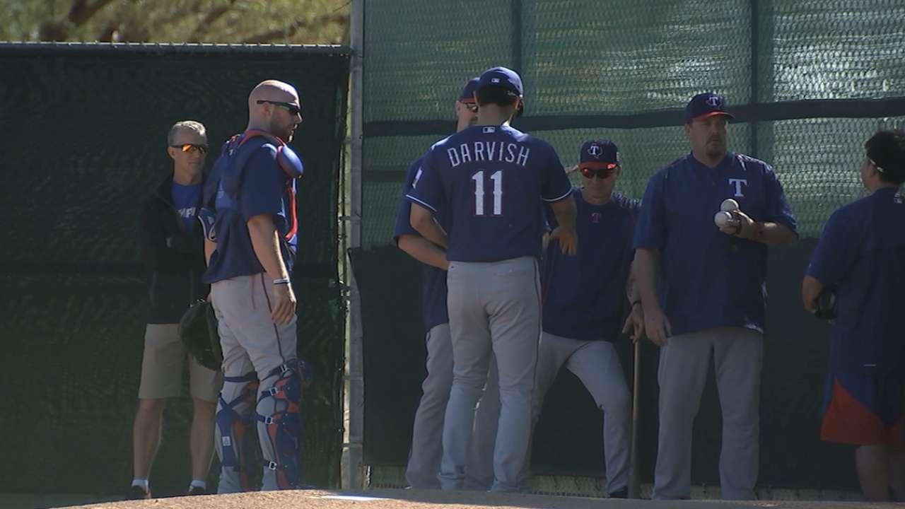 Darvish returns, shows ace form