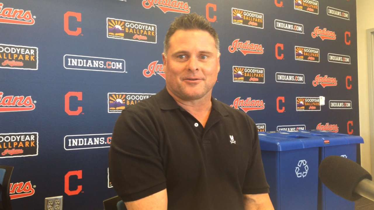 Giambi eager to help Tribe as guest instructor