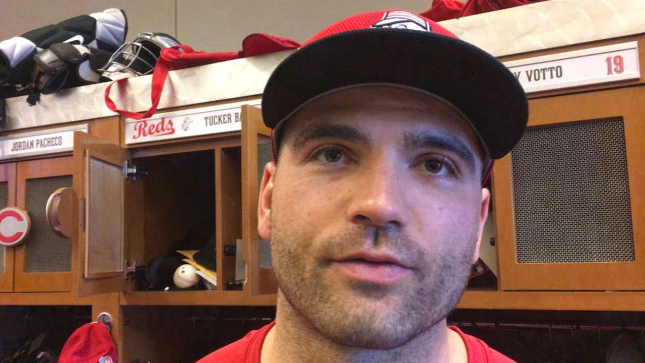 Votto: Leadership role completely unchanged