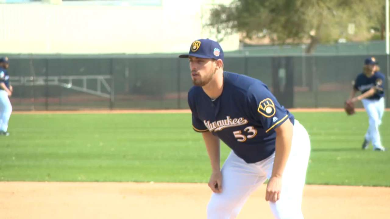 New to Brewers, lefty Nolin open to any role