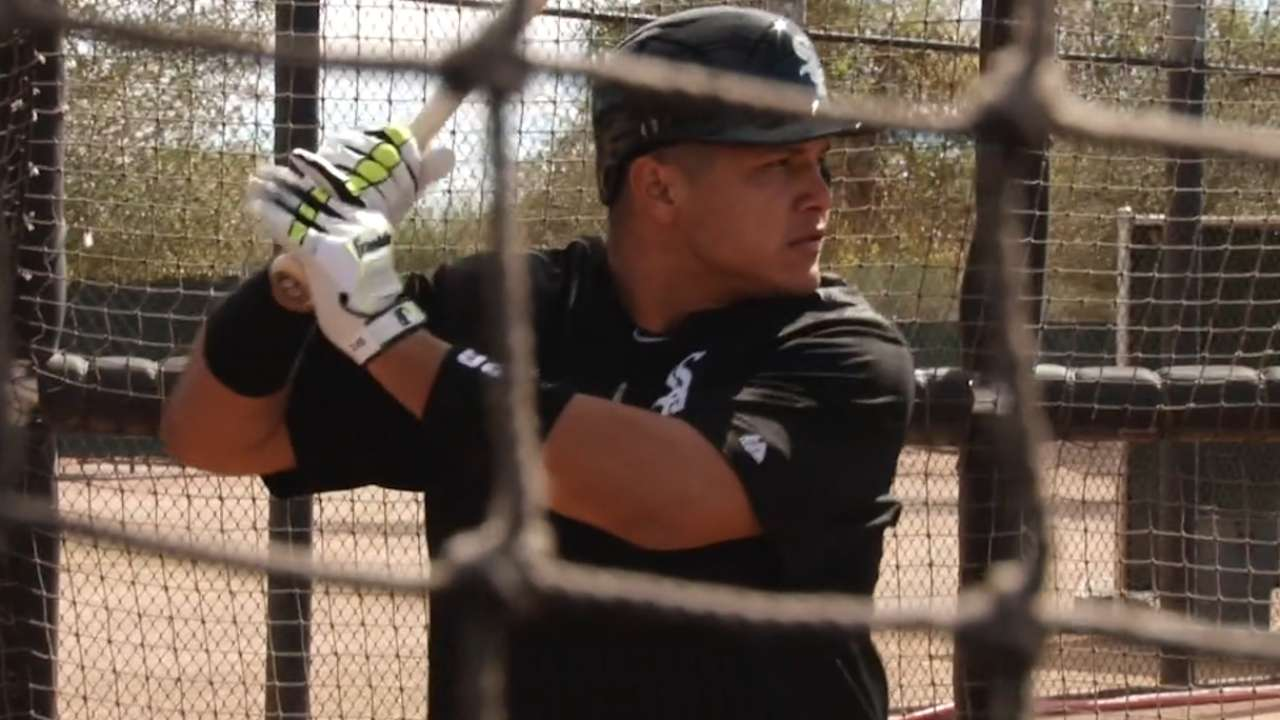 Steverson on Garcia's hitting: 'It's up to him'