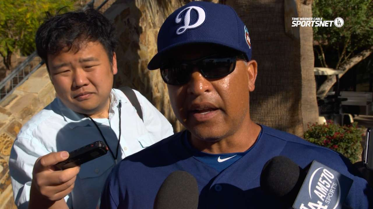 Soreness 'normal' for Ryu after throwing bullpen