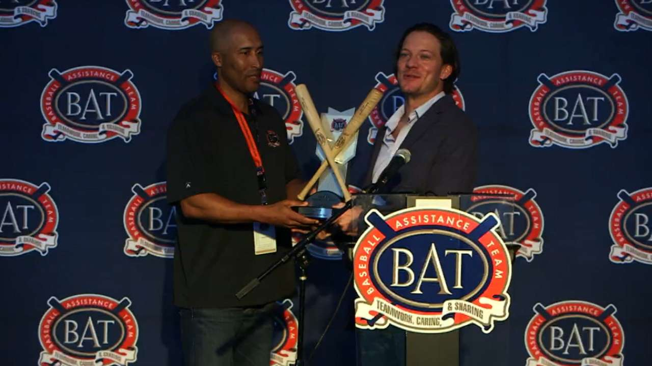 MLB family goes to B.A.T. to help its own