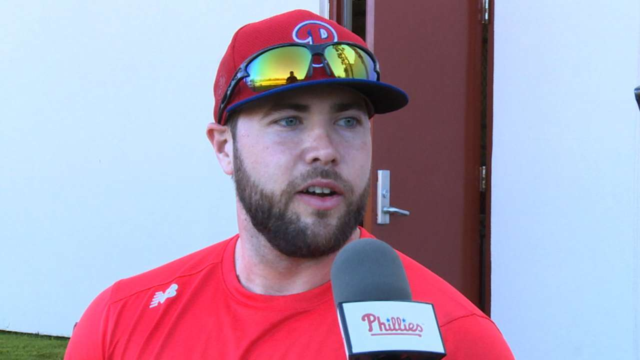 Ruf out to earn everyday role with Phillies