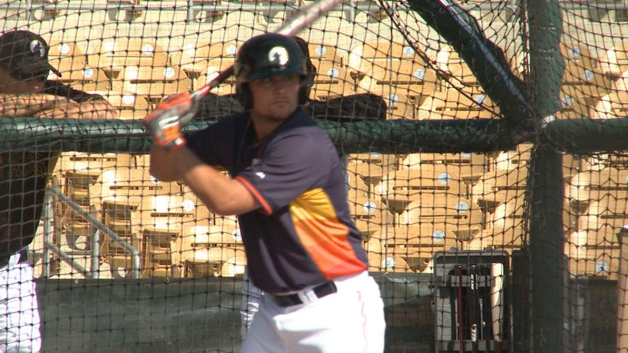 Astros prospect Davis hits three homers