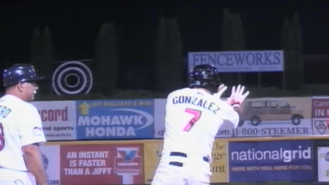 Catcher Gonzalez among Astros' roster cuts