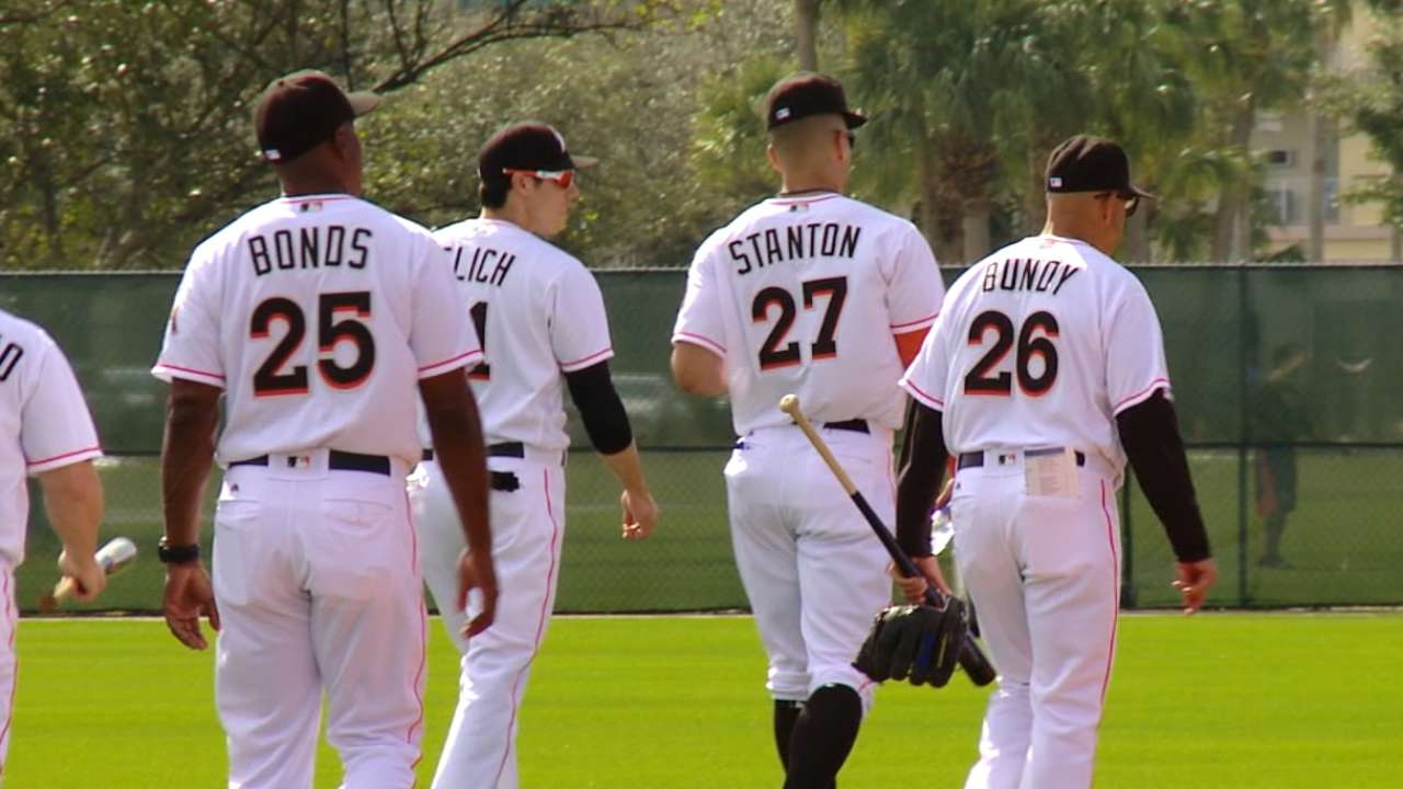 Versatility a big emphasis for Marlins this spring