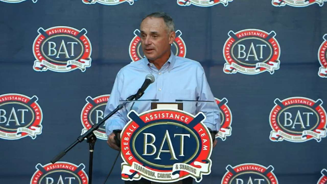 Commissioner Manfred on B.A.T.