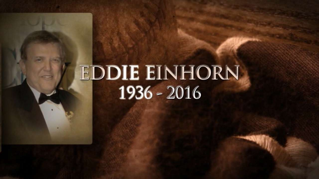 Broadcasting legend, White Sox exec Einhorn, 80, mourned