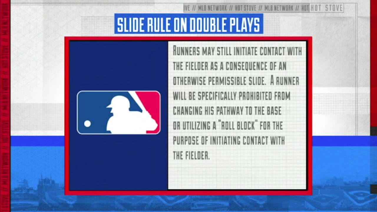 New slide, pace-of-game rules