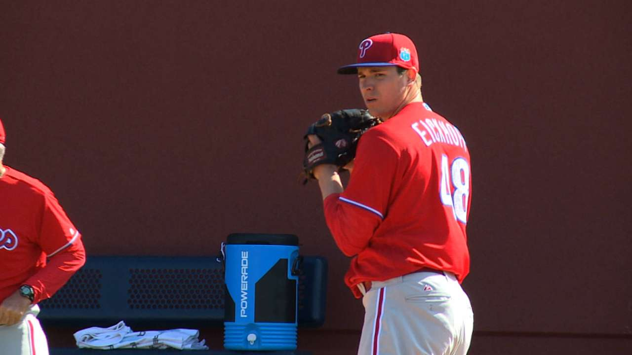 Eickhoff back from injury; Asche day to day