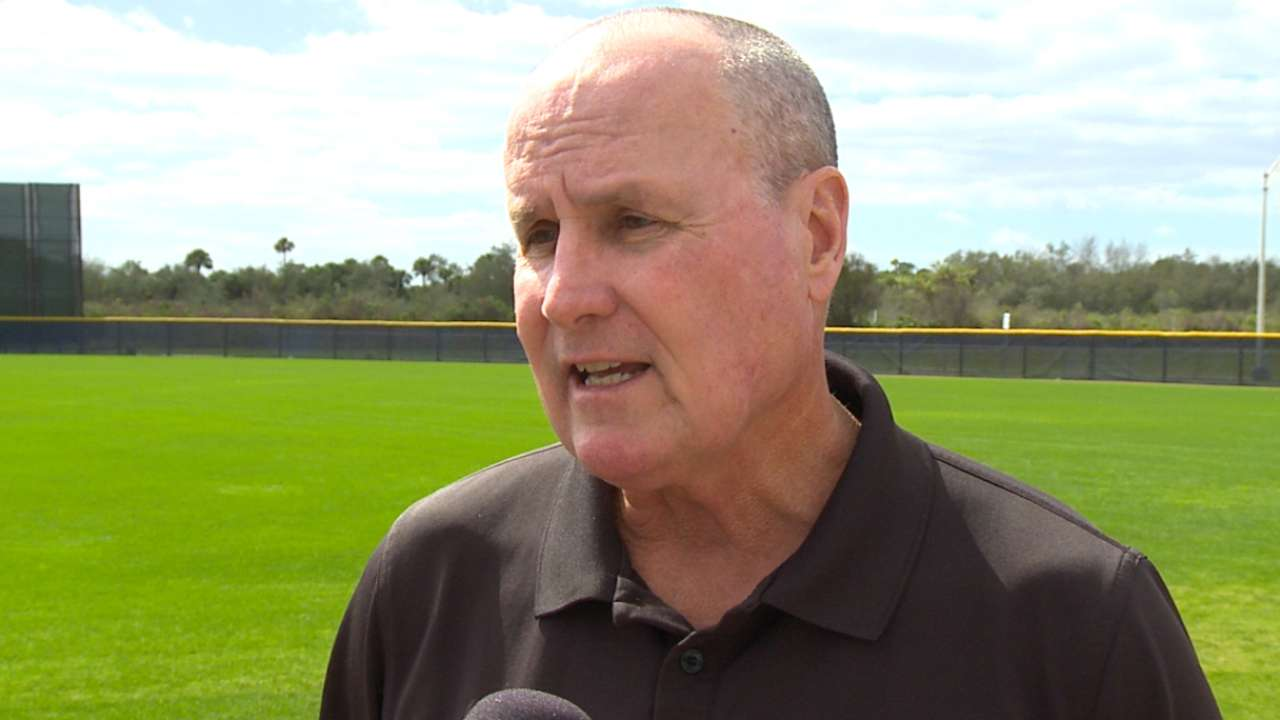 Rays get workout, golf in ahead of first game