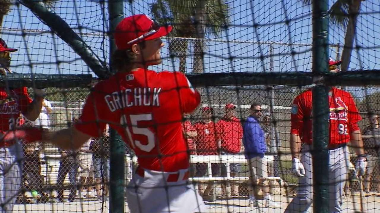 Grichuk, Holliday on '16 outlook