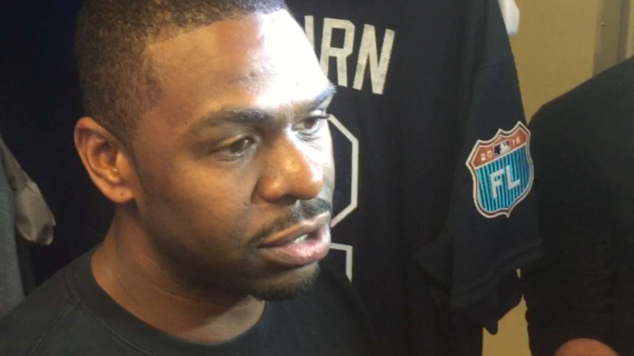Bourn happy to mentor, but preparing to win